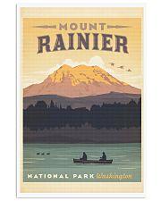 MOUNT RAINIER 11x17 Poster front