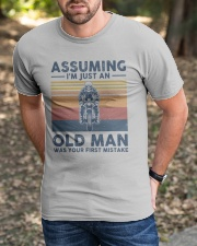 ASSUMING  Classic T-Shirt apparel-classic-tshirt-lifestyle-front-52