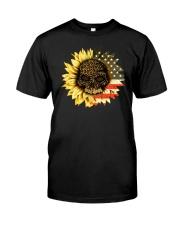 AMERICA SUNFLOWER T-SHIRT  Classic T-Shirt front