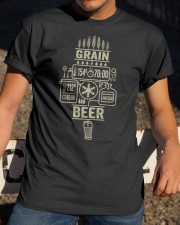 GRAIN BEER  Classic T-Shirt apparel-classic-tshirt-lifestyle-28