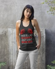 TAKEN BY A CRAZY SEXY BIKER GUY Ladies Flowy Tank apparel-ladies-flowy-tank-lifestyle-front-24