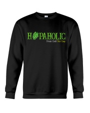 HOPAHOLIC DRINK CRAFT NOT CRAP Crewneck Sweatshirt thumbnail