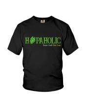 HOPAHOLIC DRINK CRAFT NOT CRAP Youth T-Shirt thumbnail