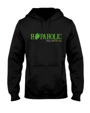 HOPAHOLIC DRINK CRAFT NOT CRAP Hooded Sweatshirt thumbnail