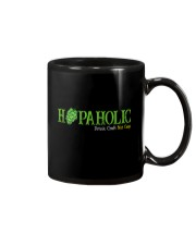 HOPAHOLIC DRINK CRAFT NOT CRAP Mug thumbnail