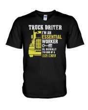 ESSENTIAL WORKER  V-Neck T-Shirt thumbnail
