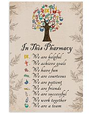 In this pharmacy 11x17 Poster front