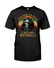 NOT TRYING T-SHIRT Classic T-Shirt front
