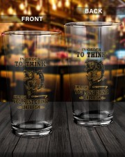 DRINK LIKE A FISH 16oz Pint Glass aos-16oz-pint-glass-lifestyle-front-14