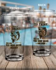 DRINK LIKE A FISH 16oz Pint Glass aos-16oz-pint-glass-lifestyle-front-15