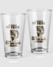 DRINK LIKE A FISH 16oz Pint Glass front