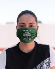 Irish Blood 5 Cloth Face Mask - 3 Pack aos-face-mask-lifestyle-03