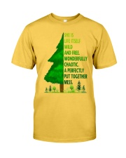 SHE IS LIFE ITSELF WILD AND TREE Classic T-Shirt thumbnail