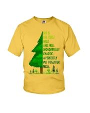 SHE IS LIFE ITSELF WILD AND TREE Youth T-Shirt thumbnail