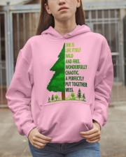 SHE IS LIFE ITSELF WILD AND TREE Hooded Sweatshirt apparel-hooded-sweatshirt-lifestyle-07
