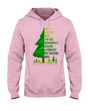 SHE IS LIFE ITSELF WILD AND TREE Hooded Sweatshirt front