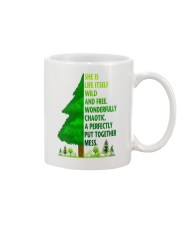 SHE IS LIFE ITSELF WILD AND TREE Mug thumbnail