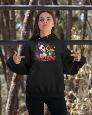 Sweet but psycho Hooded Sweatshirt apparel-hooded-sweatshirt-lifestyle-05
