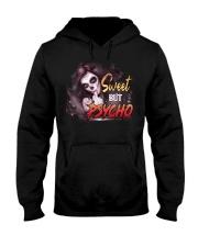 Sweet but psycho Hooded Sweatshirt front