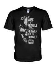 BOMB WIFE V-Neck T-Shirt thumbnail