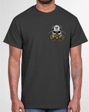 TURN AROUND SOCIAL DISTANCING Classic T-Shirt garment-tshirt-unisex-front-03