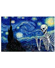 STARRY NIGHT SKULL 24x16 Poster front