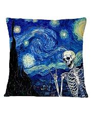 STARRY NIGHT SKULL Square Pillowcase thumbnail