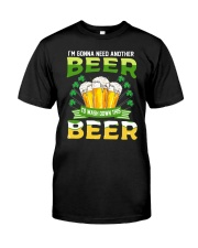 WASH BEER DOWN T-SHIRT  Classic T-Shirt front