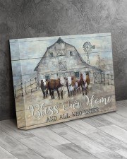Bless our home 14x11 Gallery Wrapped Canvas Prints aos-canvas-pgw-14x11-lifestyle-front-08
