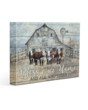 Bless our home 14x11 Gallery Wrapped Canvas Prints front