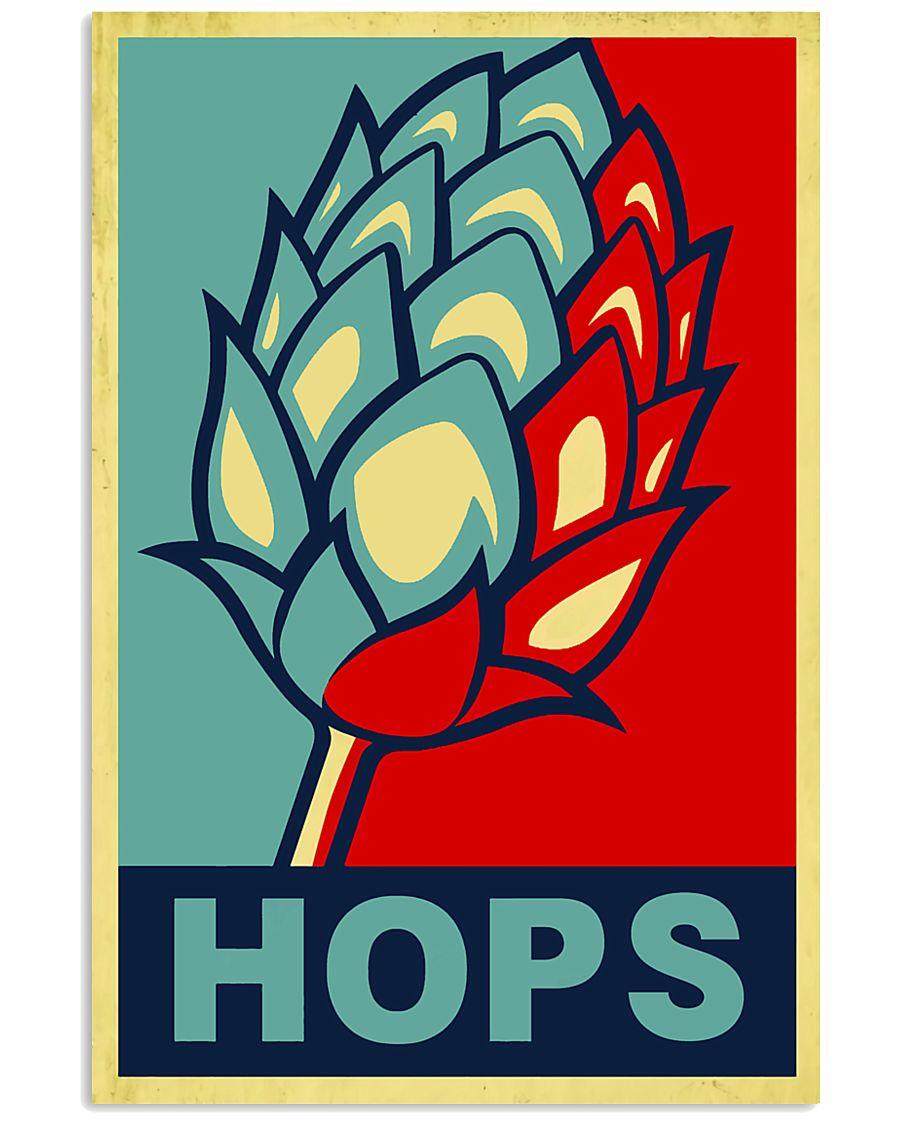 BEER HOPS 16x24 Poster