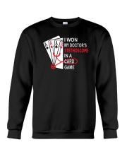 I WON T-SHIRT Crewneck Sweatshirt thumbnail