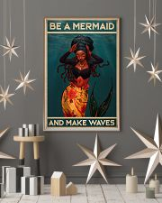 BE A MERMAID AND MAKE WAVES 16x24 Poster lifestyle-holiday-poster-1
