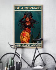 BE A MERMAID AND MAKE WAVES 16x24 Poster lifestyle-poster-7