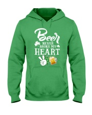 BEER BROKE T-SHIRT Hooded Sweatshirt thumbnail
