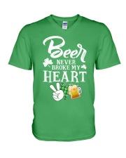 BEER BROKE T-SHIRT V-Neck T-Shirt thumbnail