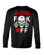 SOCIAL DISTANCING  Crewneck Sweatshirt tile