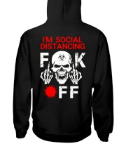 SOCIAL DISTANCING  Hooded Sweatshirt tile