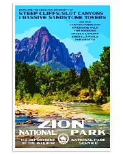 ZION  11x17 Poster front