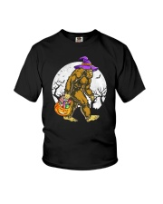 HALLOWEEN BIGFOOT Youth T-Shirt tile