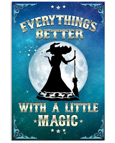 WITH A LITTLE MAGIC