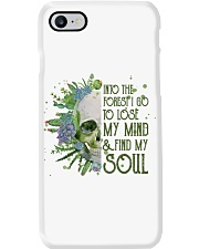 INTO THE FOREST SKULL  Phone Case thumbnail