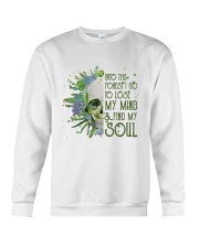 INTO THE FOREST SKULL  Crewneck Sweatshirt thumbnail