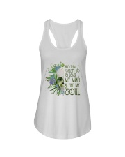 INTO THE FOREST SKULL  Ladies Flowy Tank thumbnail