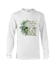 INTO THE FOREST SKULL  Long Sleeve Tee thumbnail