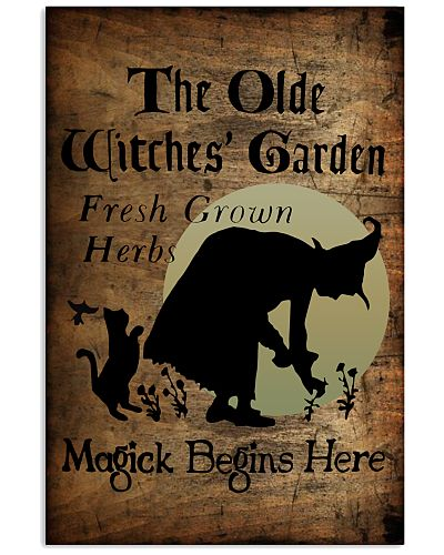 THE OLDE WITCHES' GARDEN