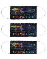 SAVE LIVES Cloth Face Mask - 3 Pack front