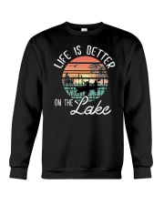 LIFE IS BETTER ON THE LAKE Crewneck Sweatshirt thumbnail