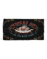 REDHEAD GIRL Cloth face mask front
