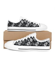 SUGAR SKULL 1 Women's Low Top White Shoes inside-right-outside-right
